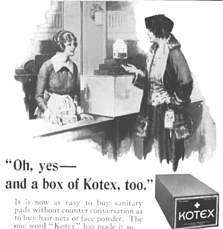 Kotex-sanitary-napkin-1922-crop-top
